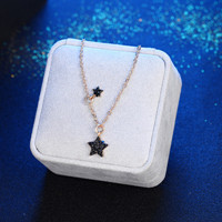 Vintage Metal Stars chokers necklaces for women fashion jewelry Gold link chain stars pendant necklace bijoux Gift for girl(China)