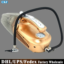 Free DHL Fedex 5 Sets W0120 Four Unity Dry Wet Dual-use Vehicle Vacuum Cleaner Air Pump(China (Mainland))