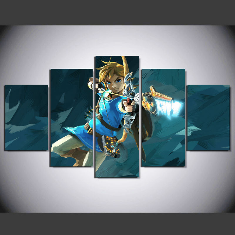 Wild painting promotion shop for promotional wild painting for Decoration zelda
