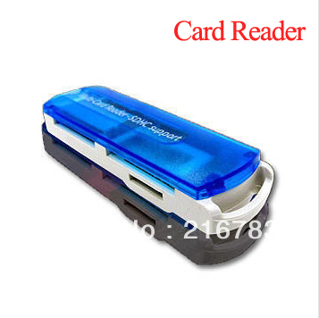 2013 New Arrival!Multi in One Memory Card Reader(China (Mainland))
