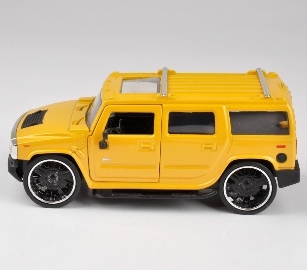 Collectible Gift Jada Car 1/32 Scale Diecast Car Model 2003 Hummer H2 Model Kids Toys Gift Free Shipping(China (Mainland))