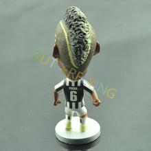 Soccer Player Souvenir FC Juventus #6 Paul Pogba Football Star Collectible Action Figure Toy Doll(China (Mainland))