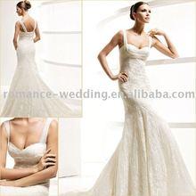 La0203 Nice Sweetheart Chiffon Wedding Dress(China (Mainland))