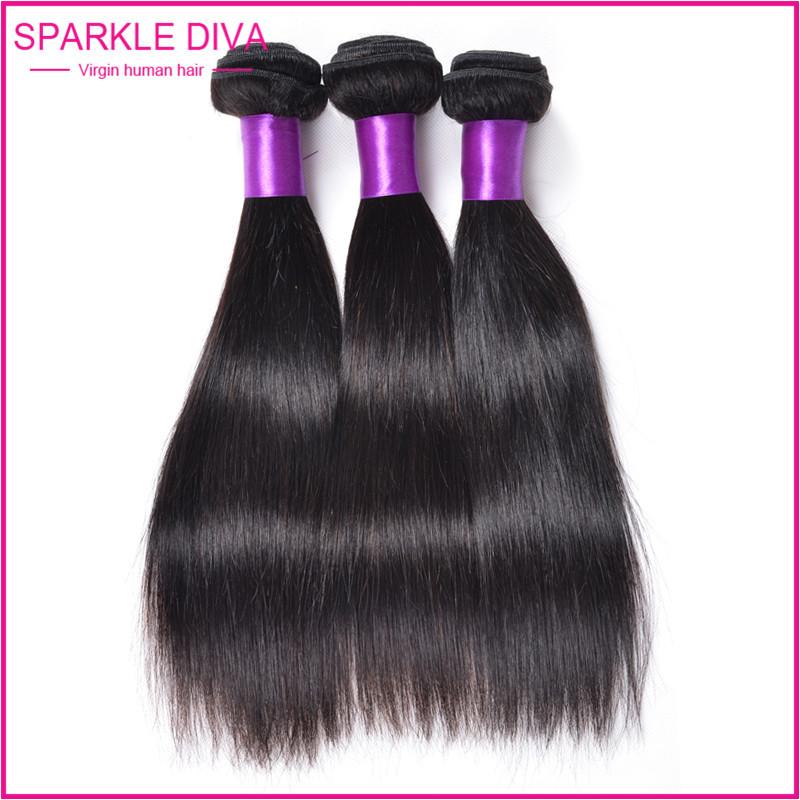 Juliet Straight Virgin Hair Unprocessed Virgin Indian Hair 3pcs lot Indian Straight Virgin Hair 100% human hair weaving(China (Mainland))