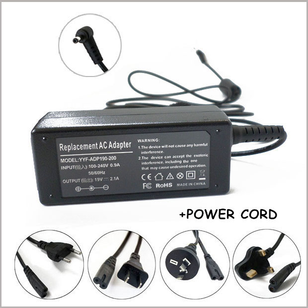 19V 2.1A AC Adapter Charger Power Supply For Notebook Asus Eee PC 1005 1005HA 1005HAB 1005PE 1201 1001PXD 1005P 1005PEB 1201(China (Mainland))