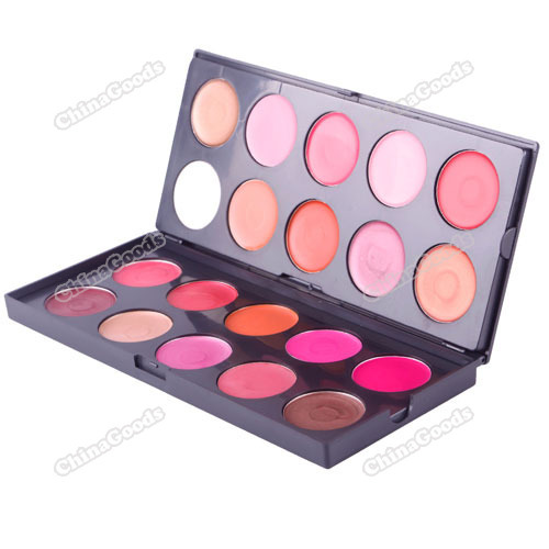 Larainevip big saving Professional 20 Colors Makeup Palette Lip Gloss Lip Stick Palette Set more earning(China (Mainland))