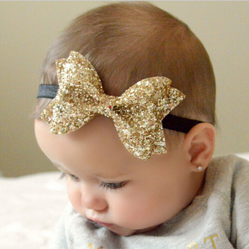TWDVS New Headwear Cut Hair Bows Baby Flower Headband Girls Bow Knot Elastic Hair Bands Infant Children Hair Accessories W213(China (Mainland))