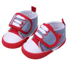 Feitong New 2016 lovely Baby Boy Girls Kids Soft Sole Crib Warm Walker canvas Shoes soft sole baby shoes for girls 0-18 months(China (Mainland))