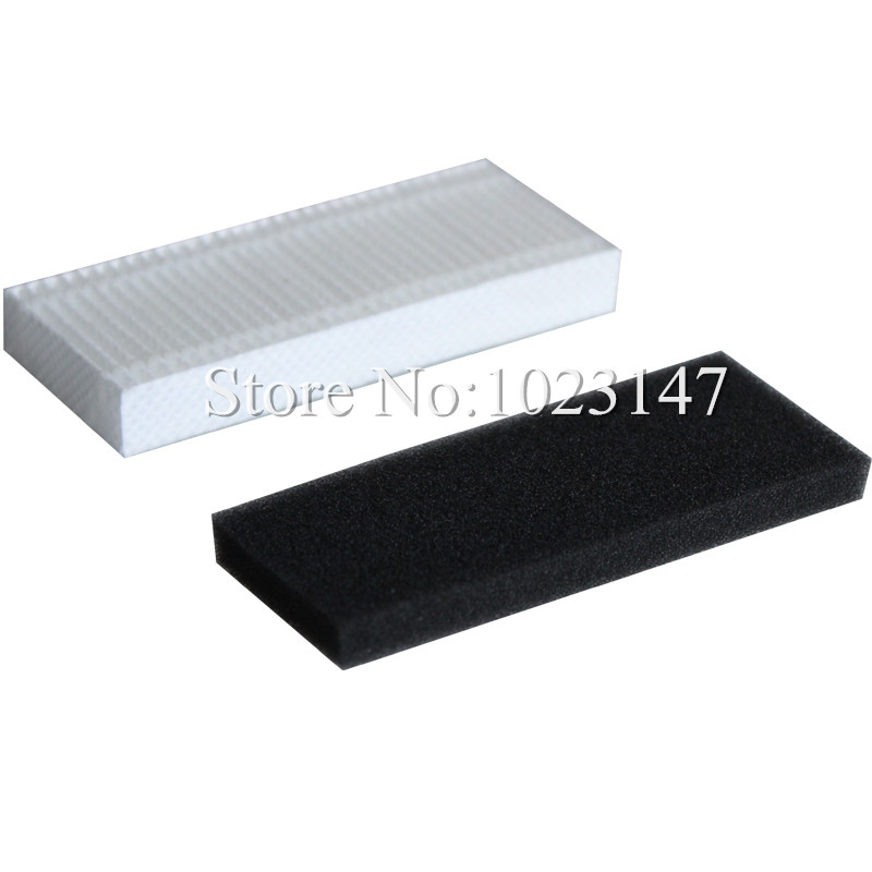 1 set Robot Vacuum Cleaner Filters HEPA filter for Ecovacs Deebot Dibea CEN630,CEN630 irobotisc Parts !(China (Mainland))