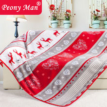 New Hot Flannel Blanket Adult Winter Thick Warm Cover France Tower Quilts Home Super Soft Fleece Blankets On The Bed(China (Mainland))