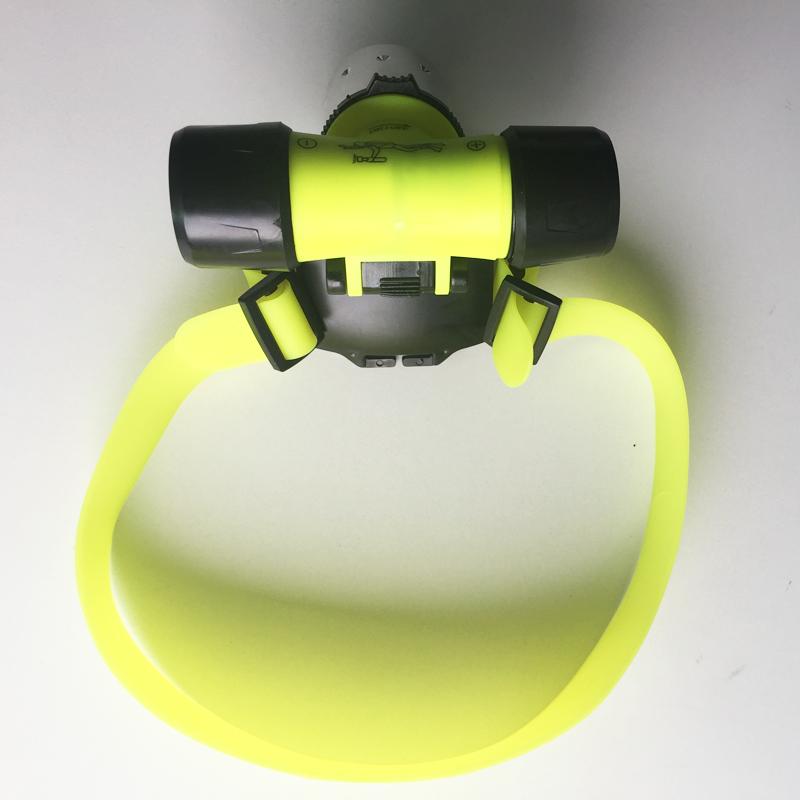 Underwater 2000 Lumen XM-L XML T6 Diving Headlamp LED Waterproof 20m 3-Mode Swimming Headlight Dive Head Light Torch Lamp