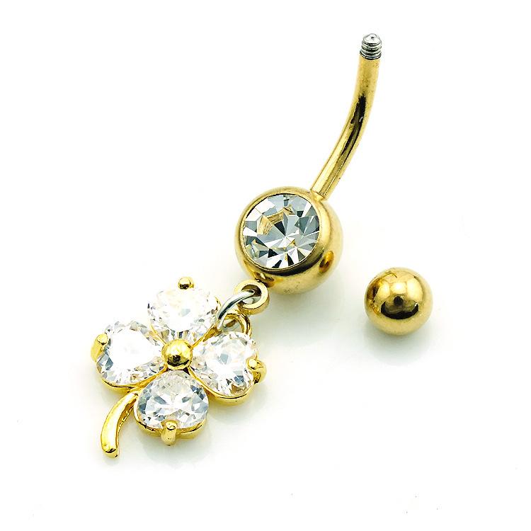 stainless steel navel rings piercing jewelry