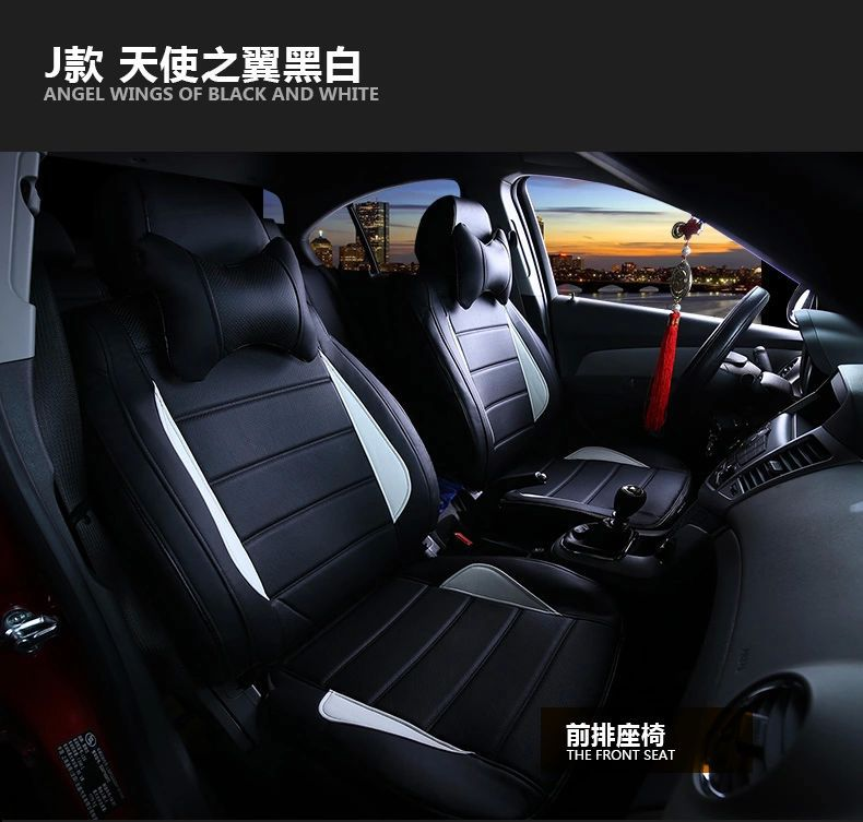 free shipping waterproof fiber leather car seat cushion cover 100% coverage for bmw x1/x3/x5/1/3 series/5 series/gt series<br>