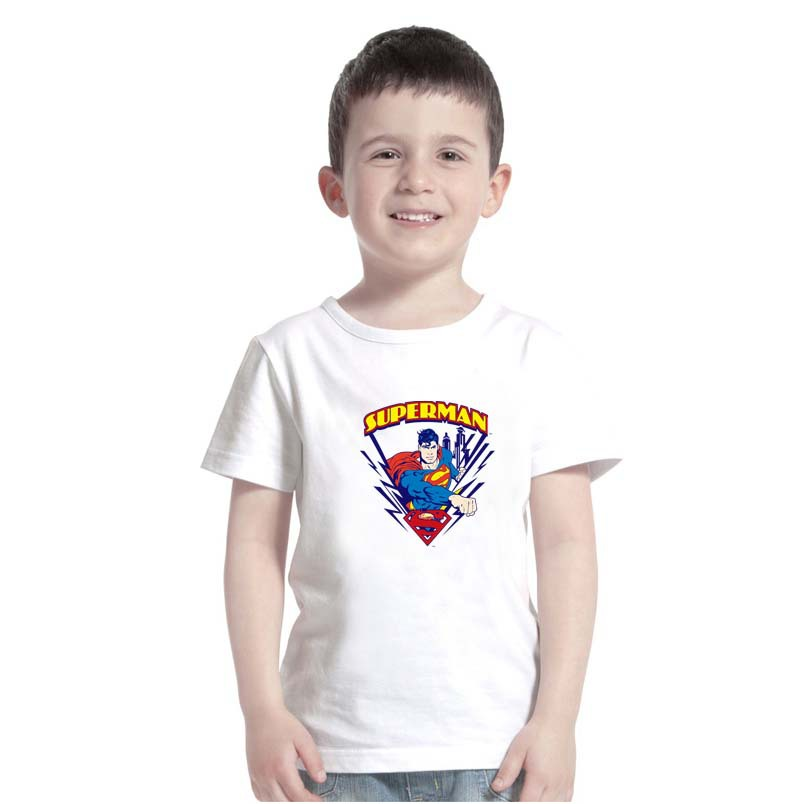 Superman t shirt children 39 s superhero cartoon t shirt boys Boys superhero t shirts