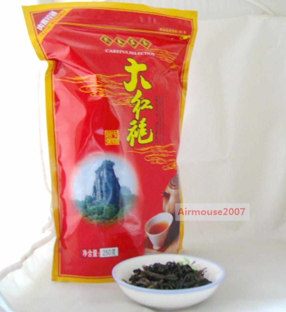 250g Top Fragrance Da Hong Pao Big Red Robe Wuyi China Oolong Tea Origin(China (Mainland))