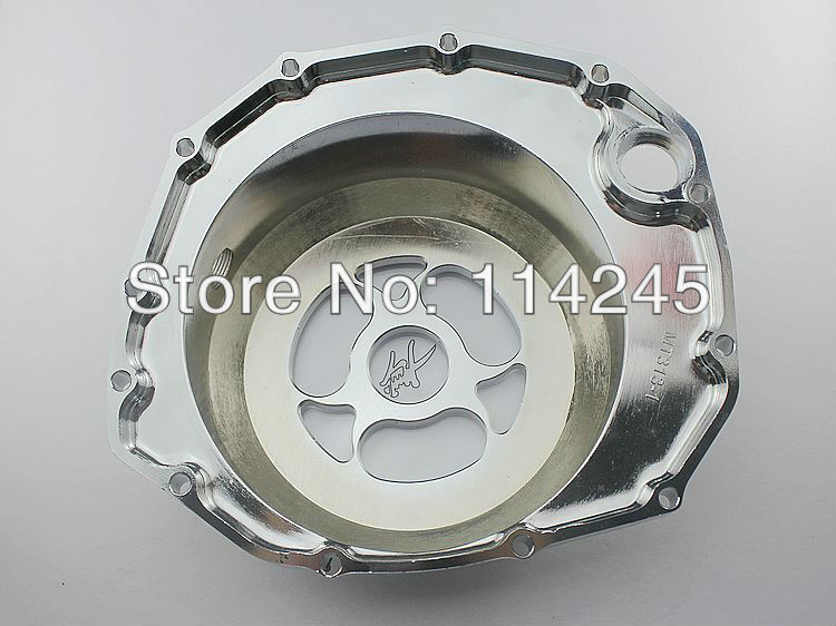 Glass Motorcycle Engine Clutch Cover For Suzuki GSX1300R Hayabusa 1999 2000 2001 2002 2003 2004 2005