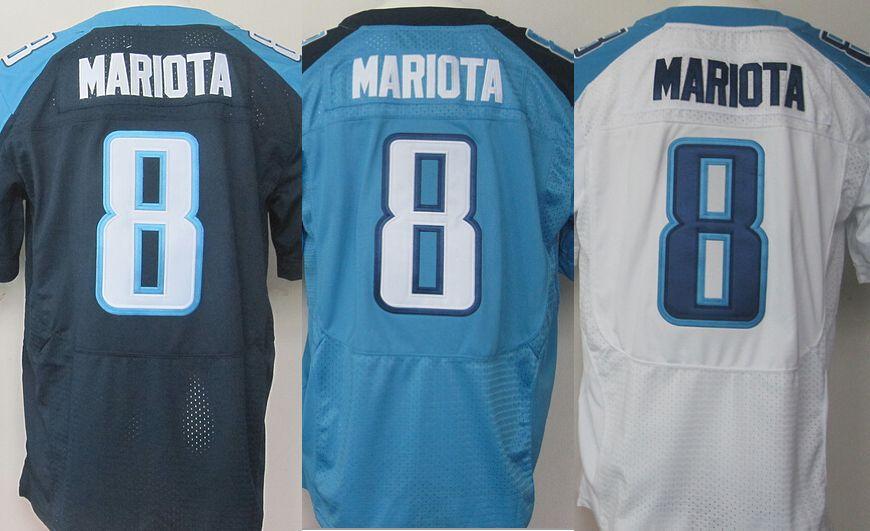 Marcus Mariota Jersey #3 Tennessee Jerseys ,American Football Jersey stitched elite 2015 new draft jersey(China (Mainland))