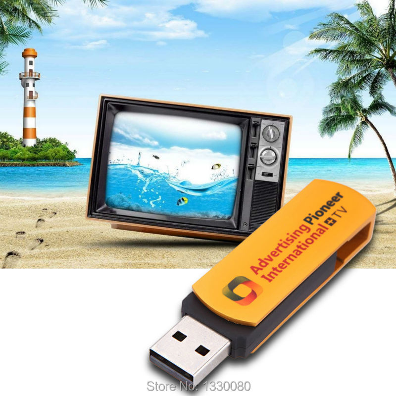New Arrival Multifunctional Golden USB Worldwide Internet TV and Radio Player Dongle TV Stick E5M1(China (Mainland))