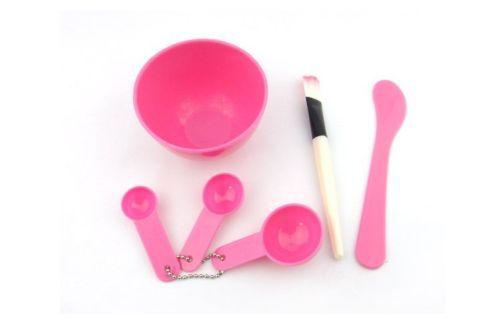 DIY Facial Mask Bowl Makeup Tool Brush Spoon Set Face Care Hot Beauty 6 in 1(China (Mainland))