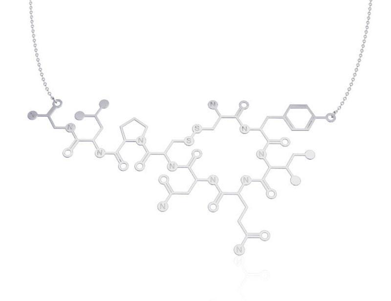 Oxytocin Molecule Fashion Oxytocin Molecule