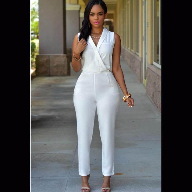 Online Get Cheap Formal White Jumpsuit for Women -Aliexpress.com ...