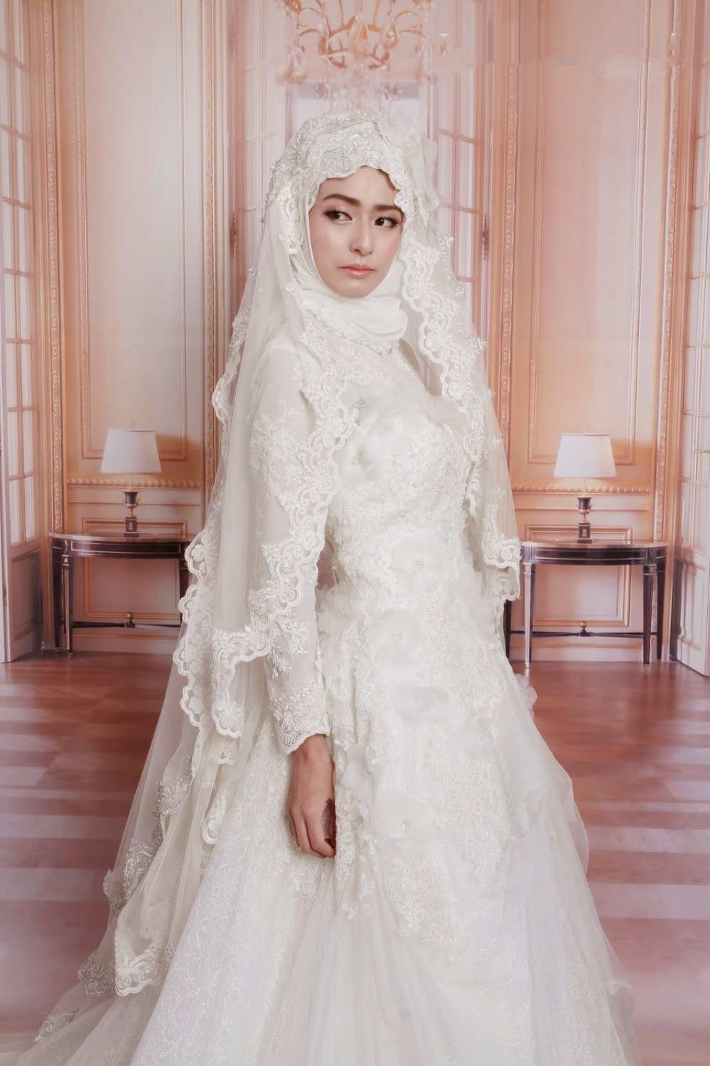 20 Modest Wedding Dresses Beautified With Lace | ModClassyStyler