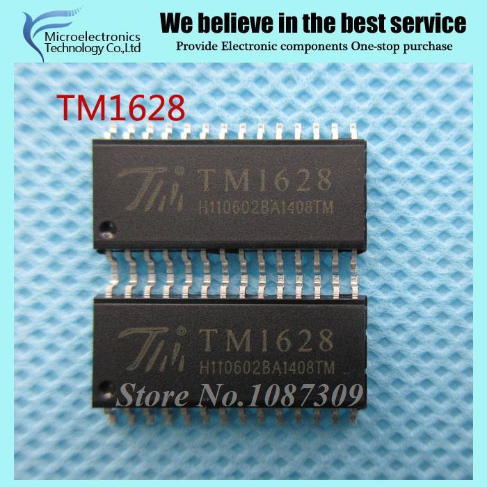 50pcs free shipping TM1628 SOP-28 DVD LED driver IC new original(China (Mainland))