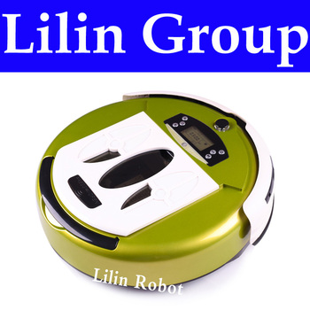 (Free to Russia) Robot Vacuum Cleaner, Multifunctional(Vacuum,Sterilize,Mop,Flavor),Virtual Wall,Schedule,Self Charge,LCD Screen