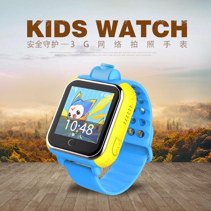 ถูก Latest3g smart watchเด็กเด็กนาฬิกานาฬิกาข้อมือที่มีกล้องgsm gprsติดตามจีพีเอสป้องกันการสูญเสียs mart w atchยามสำหรับios a ndroid