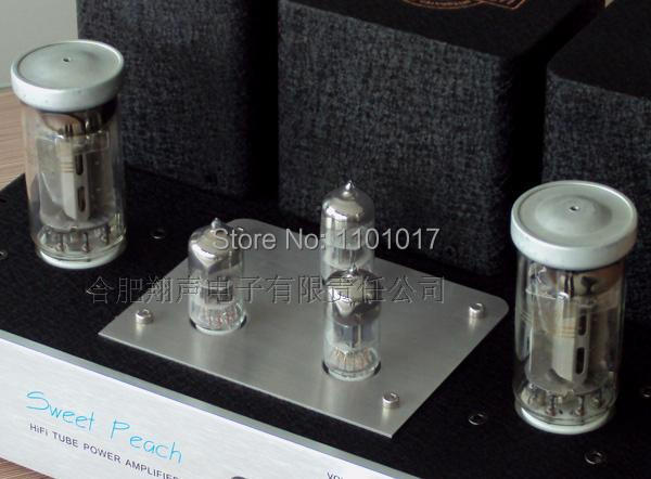 XiangSheng Sweet Peach SP-FU50 Tube Amplifier HIFI EXQUIS FU50 Signal-ended MM Phono Headphone output USB Decode mp