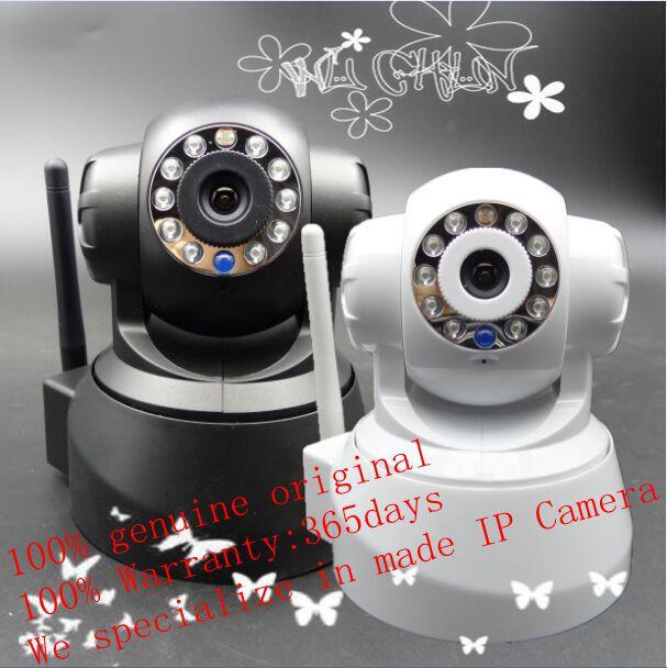 P2P IP Camera with two way audio security camera Mini CMOS 3000000pixel cameras(China (Mainland))