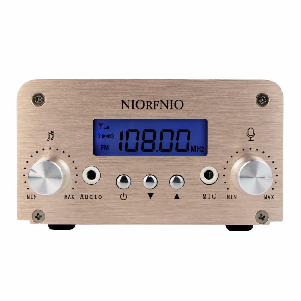 1W / 6W PLL FM Transmitter Mini Radio Stereo Station Bluetooth Wireless Broadcast only host Y4349(China (Mainland))