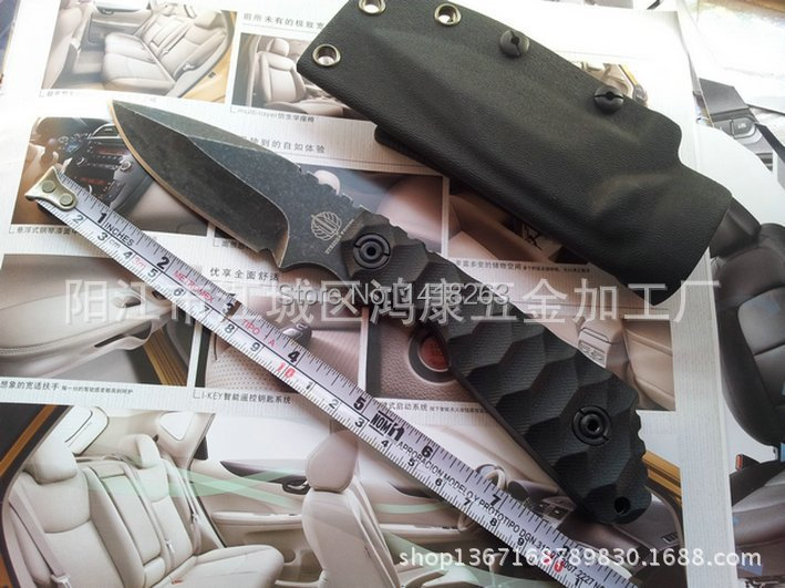 CR13 Newest Hot Selling 60HRC9  wild jungle tactical  Camping Hunting straight knife knives survival /outdoor handmade tools<br><br>Aliexpress