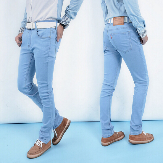 Mens fashion light jeans – Global fashion jeans models
