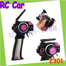 Gift Idea Z301 1:32 2.4G mini remote control car remote control car remote control sports car can do tricks +Free shipping(China (Mainland))