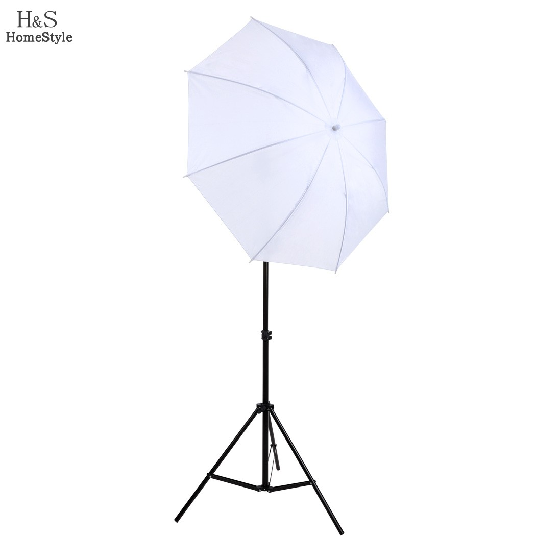 Portable photo studio kit w803 Light Stand + Flash Bracket B Mount + 33inch white Umbrella for Speedlite Shooting 3in1 22(China (Mainland))