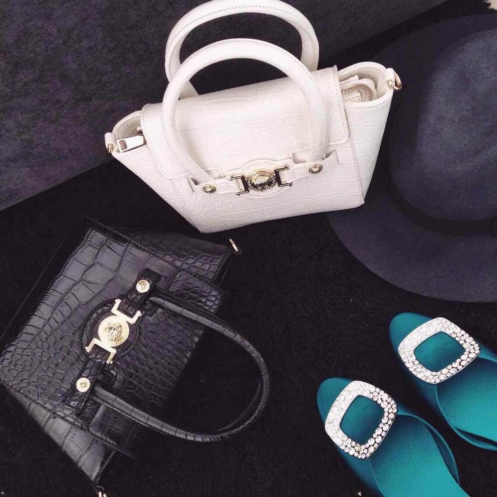 MIKKOSHOP patent leather crocodile pattern handbag high-end fashion handbags AD3290(China (Mainland))