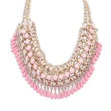 2015 moda de nueva Bohemia que hace punto Collar gargantilla Necklace Collar Fine Jewerly para mujeres Collar