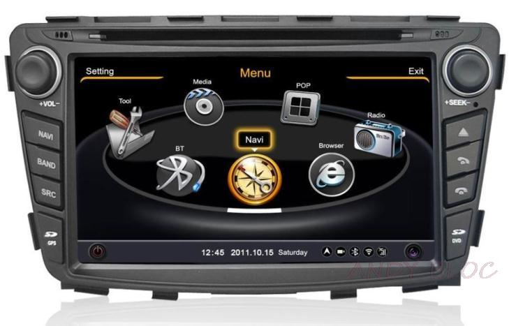 Dual core A8 chipest cpu car dvd player for Hyundai verna 2010-2013 Solyaris with gps, bluetooth, sd, ipod, 3g, wifi Free Map(China (Mainland))