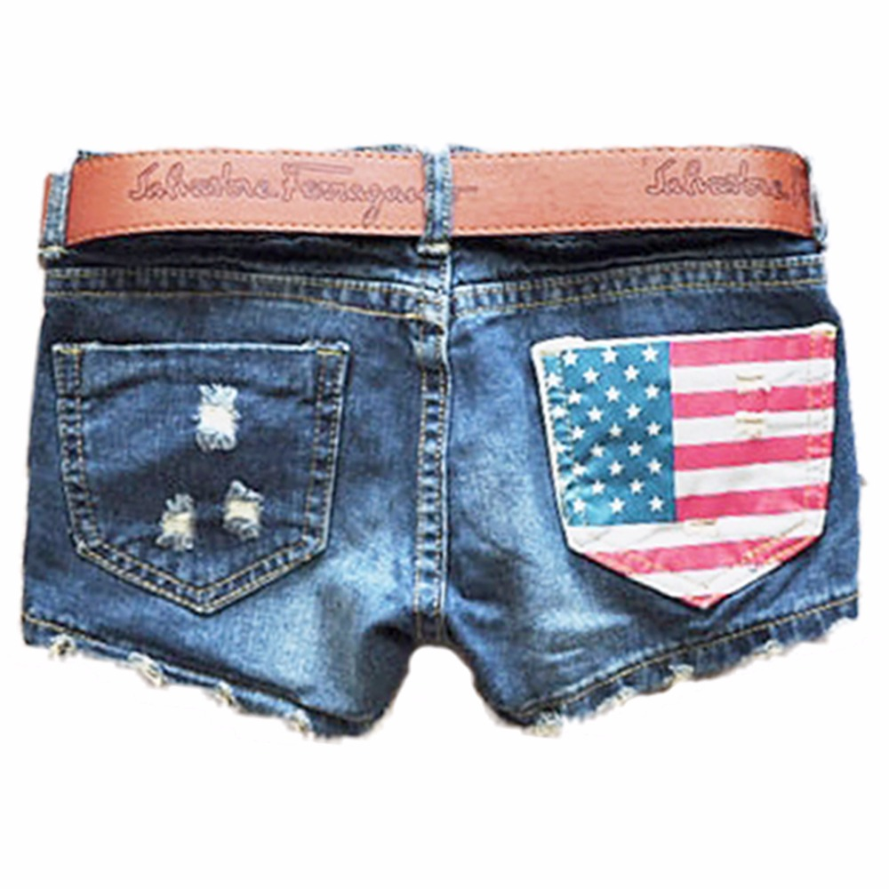 American Flag Blue Jean Shorts Promotion-Shop for Promotional ...