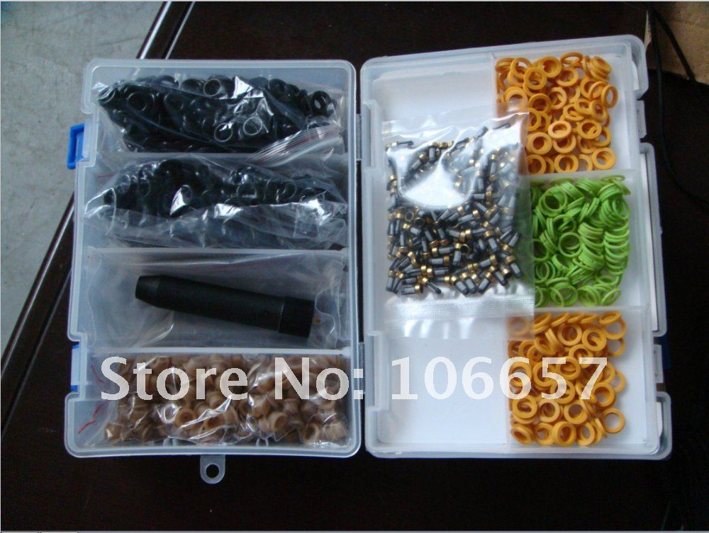 Free shipping!!High quality 200sets/box Universal Bosch fuel injector repair service kits for directly sale<br><br>Aliexpress