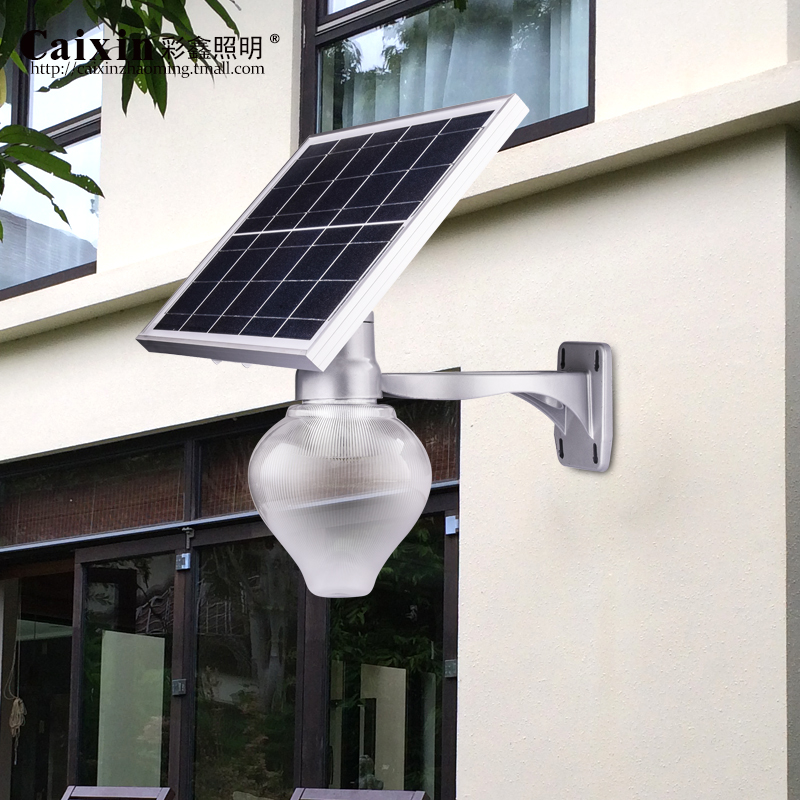 Solar street lights garden lights outdoor landscape rural home park community garden light pole(China (Mainland))