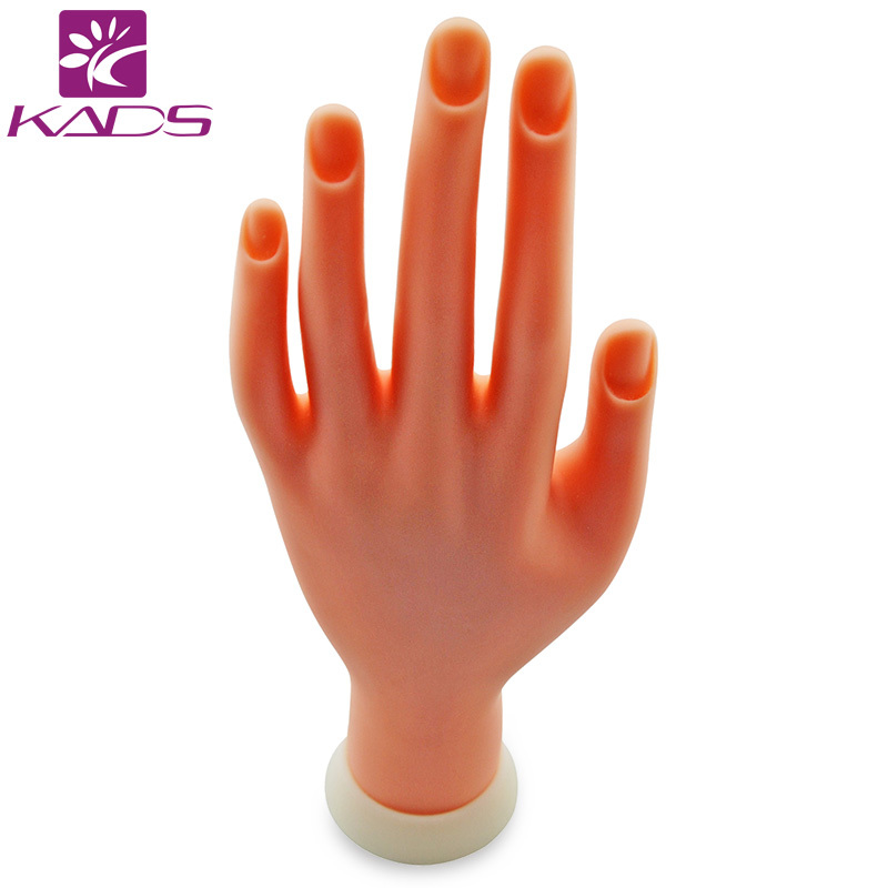 KADS Retail Tide Nail Practice Hand Showing The Palm Of The Hand Fake Nail Supplies Nail Tools For Students To Practice(China (Mainland))