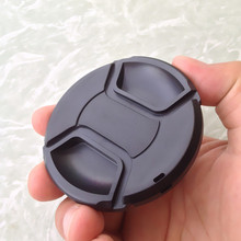 Len Caps 58 mm 58mm Universal Lens Cap, Center Pinch Snap On Anti-losing Front Cap for all Camera Lens, Filters  S26