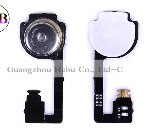 1Pcs/lot For Apple iPhone 4 4G OEM Home Button Key Flex Cable 1pcs free shipping China post(China (Mainland))
