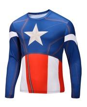 Buy 2015 Top Sales Superhero T shirt Superman Spiderman Batman Avengers Captain America Ironman 21 Style Clothing S-6XL for $5.20 in AliExpress store
