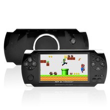 High Quality 4GB/ 8GB Video Game Console 4.3 inch MP4 MP5 Players Handheld Game Player ebook/FM/ Camera(China (Mainland))