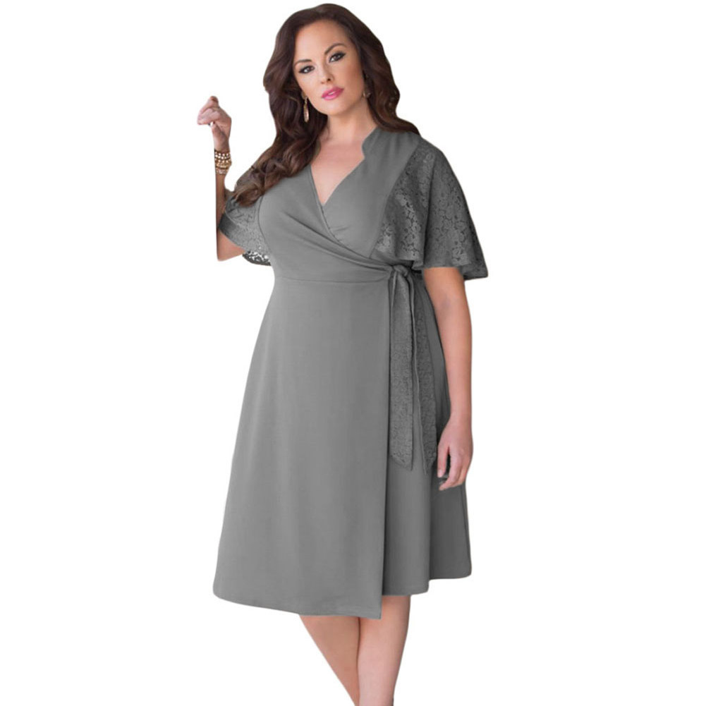 Awesome New Design Plus Size Women Maxi Evening Dress For Fat