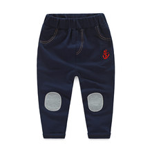 Baby solid color casual pants 2016 new style children's clothing boy pants wholesale and retail kz-7569
