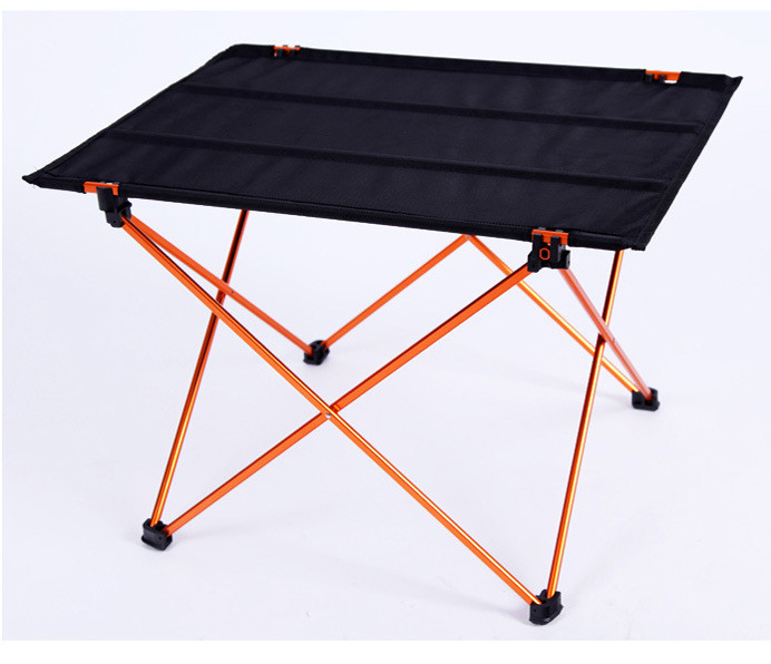 1pcs Casual Aluminum Alloy Folden Outdoor Desk Beach Table Extra Light Dinner Table 56x42x38cm(China (Mainland))